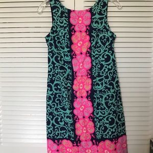 Lilly Pulitzer scoop-back dress